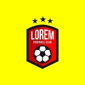 Football Club icon Vector Template Design