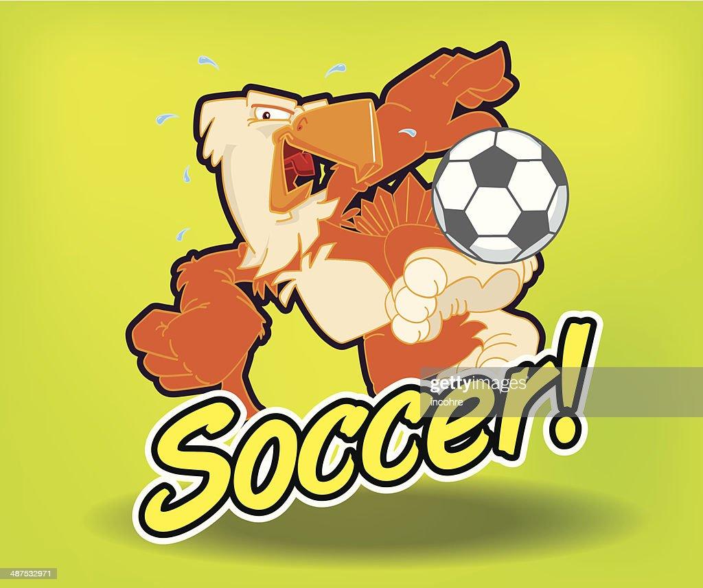 Aguila futbolera
