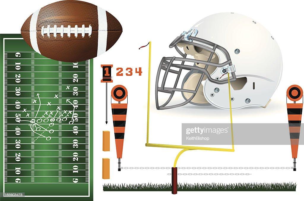 Football Equipment Backgrounds