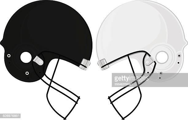 football face off - american football uniform stock illustrations