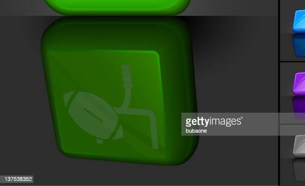 フットボールフィールドゴール 3 d ]ボタンに設計 - アメリカンフットボールのフィールドゴール点のイラスト素材/クリップアート素材/マンガ素材/アイコン素材