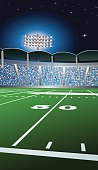 Football Fifty Yard Line Background