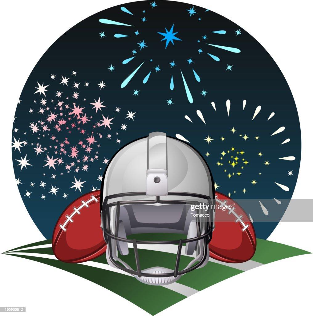 Football fireworks