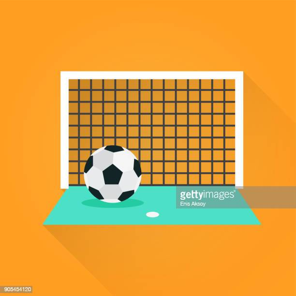 ilustraciones, imágenes clip art, dibujos animados e iconos de stock de icono plano del fútbol - gradas