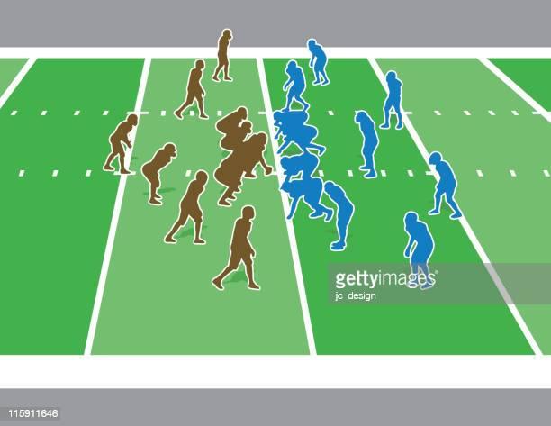 football game - football scoreboard stock illustrations