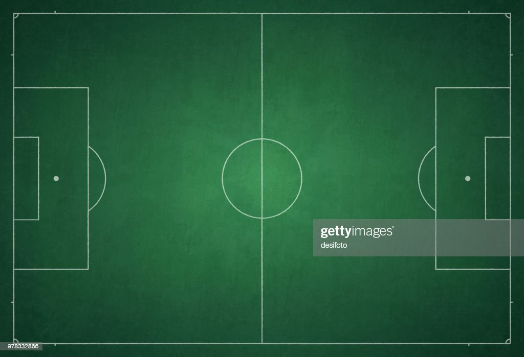 Football ground / field vector illustration : stock illustration