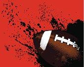 Football Grunge Ball