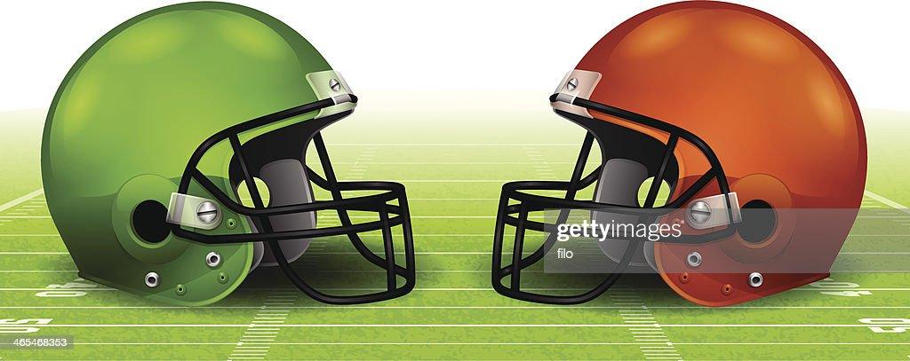 Football Helmet Background