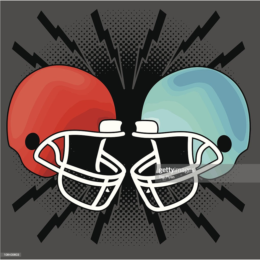 Football helmet fight vector art getty images football helmet fight bankloansurffo Choice Image