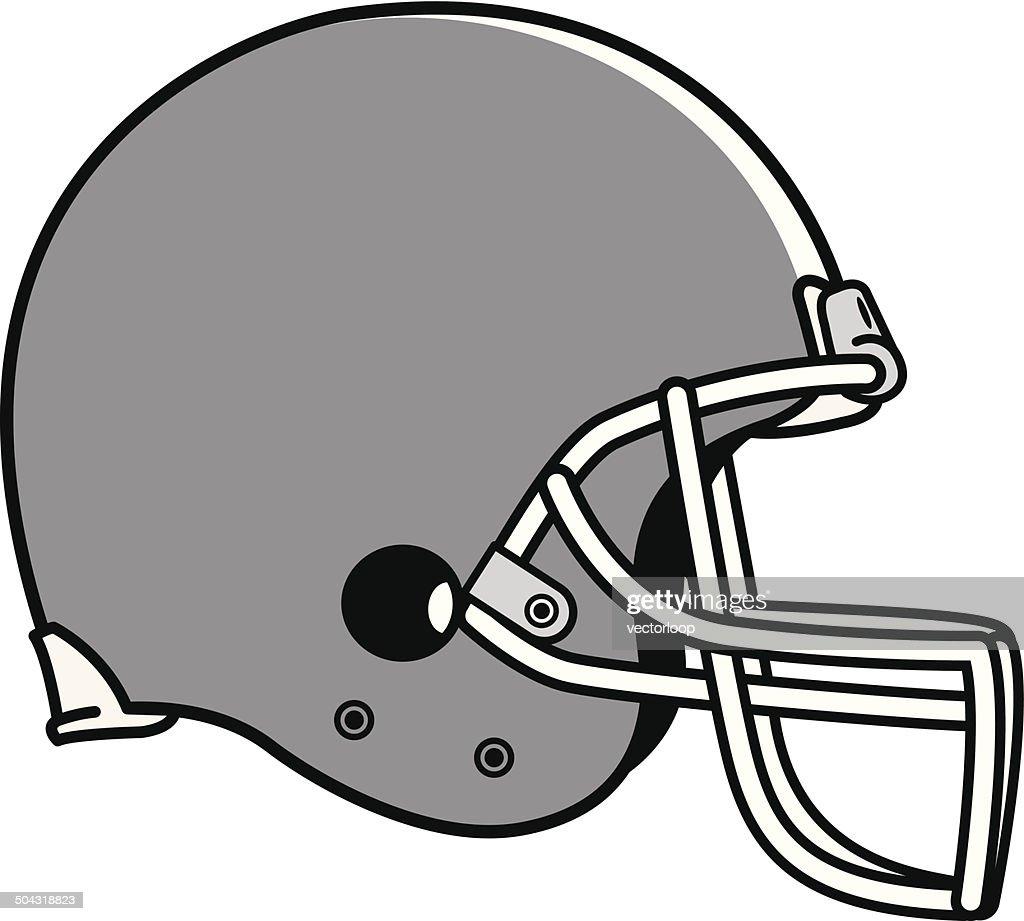 football helmet vector art and graphics getty images rh gettyimages com football helmet vector side football helmet template vector