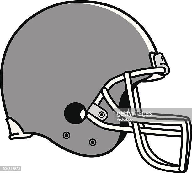 football helmet - football helmet stock illustrations