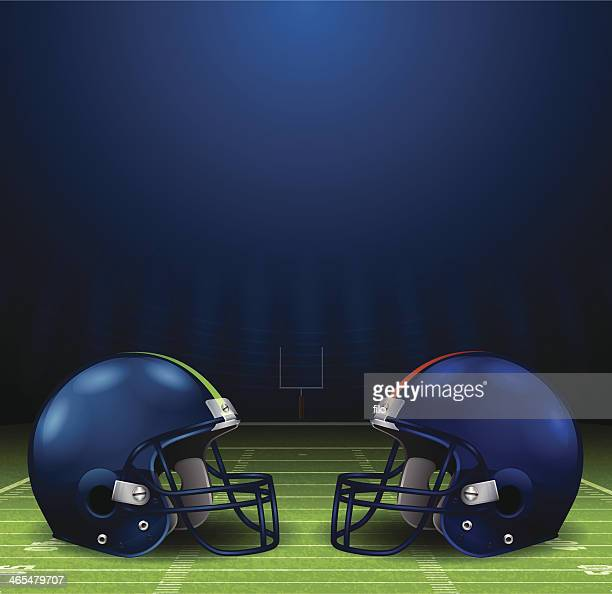 Football Helmets Background
