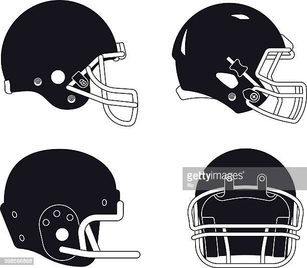 871 Football Helmet High Res Illustrations Getty Images
