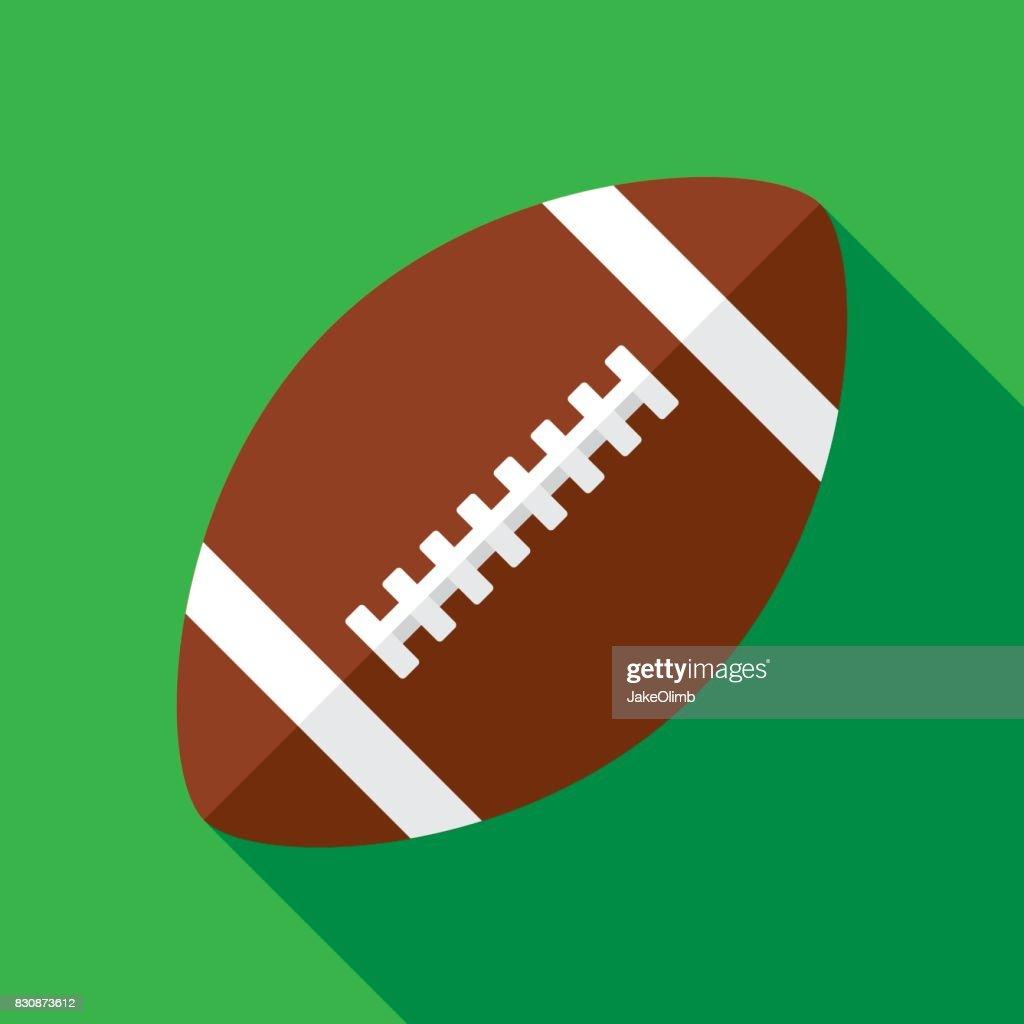 Football Icon Flat : stock illustration