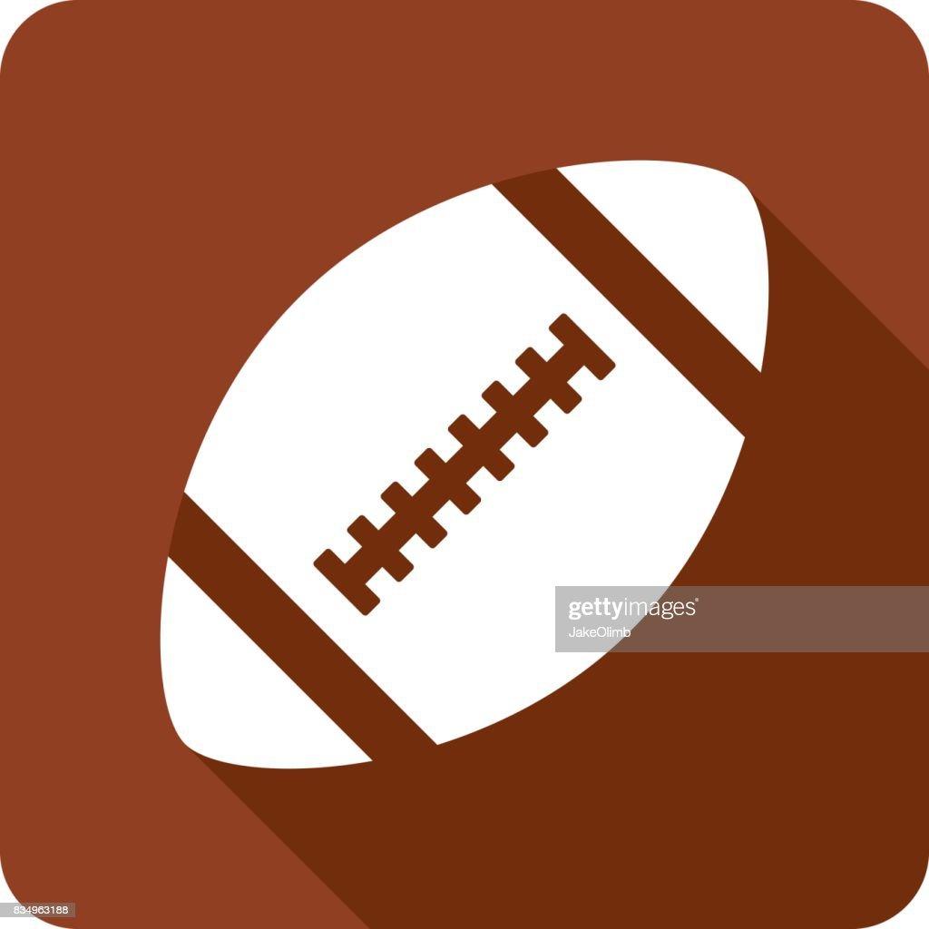 Football Icon Silhouette : stock illustration