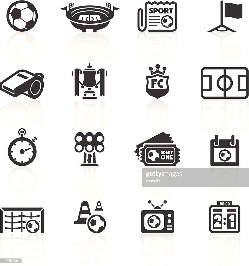 Football Icons Set 1 : stock illustration