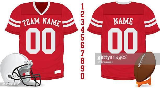 a05b1ce1c 60 Top American Football Uniform Stock Illustrations