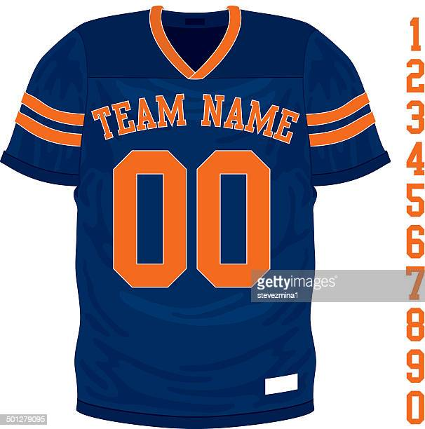 football jersey - sports jersey stock illustrations