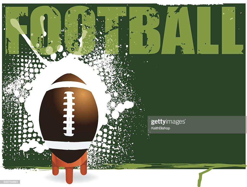 Football Kick Off Background