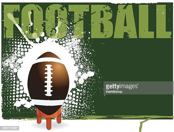 football kick off background - all star sportsperson stock illustrations
