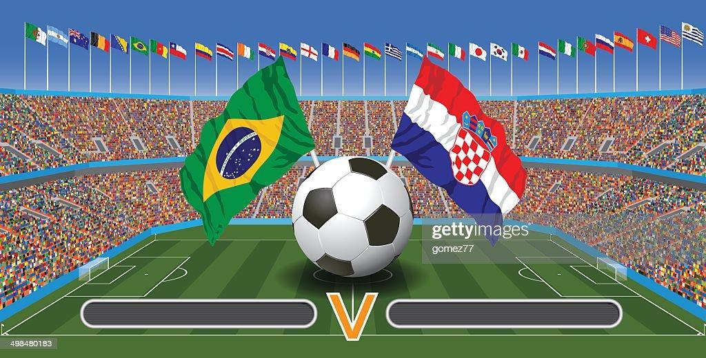 Football Match : stock illustration