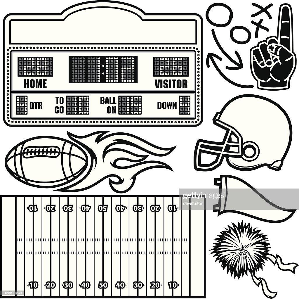 Football Package B&W