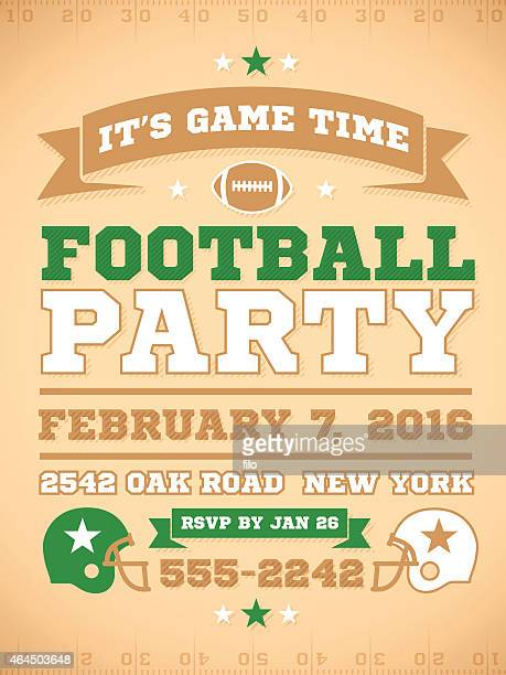 football party invite - high school student stock illustrations, clip art, cartoons, & icons