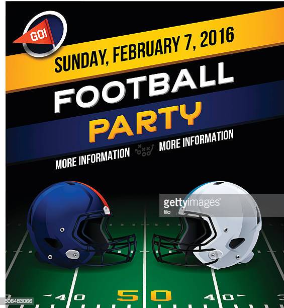 football party - football field stock illustrations, clip art, cartoons, & icons