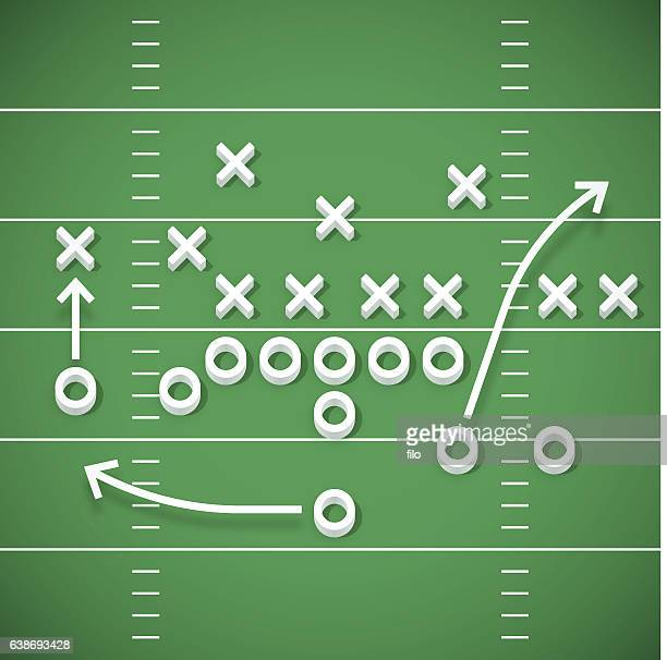 football play - football field stock illustrations, clip art, cartoons, & icons
