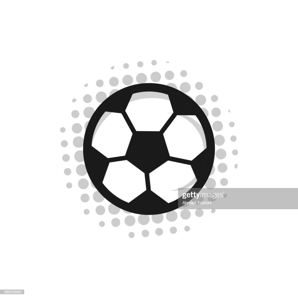 Football Russia 2018 Vector Template Design Illustration