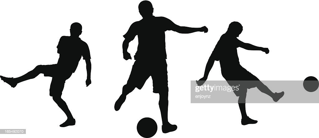 Football Silhouettes