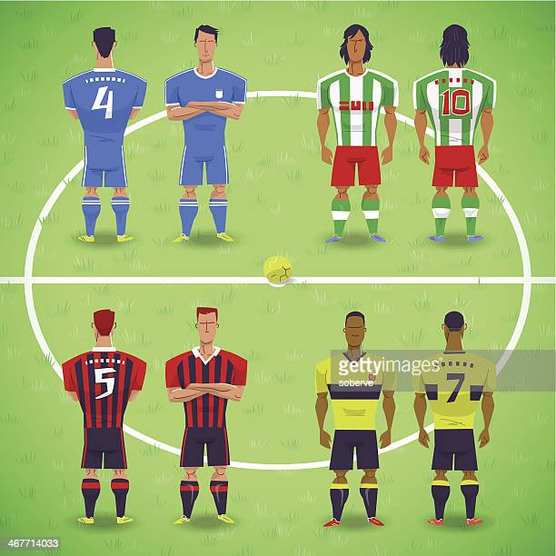 Football Soccer Players