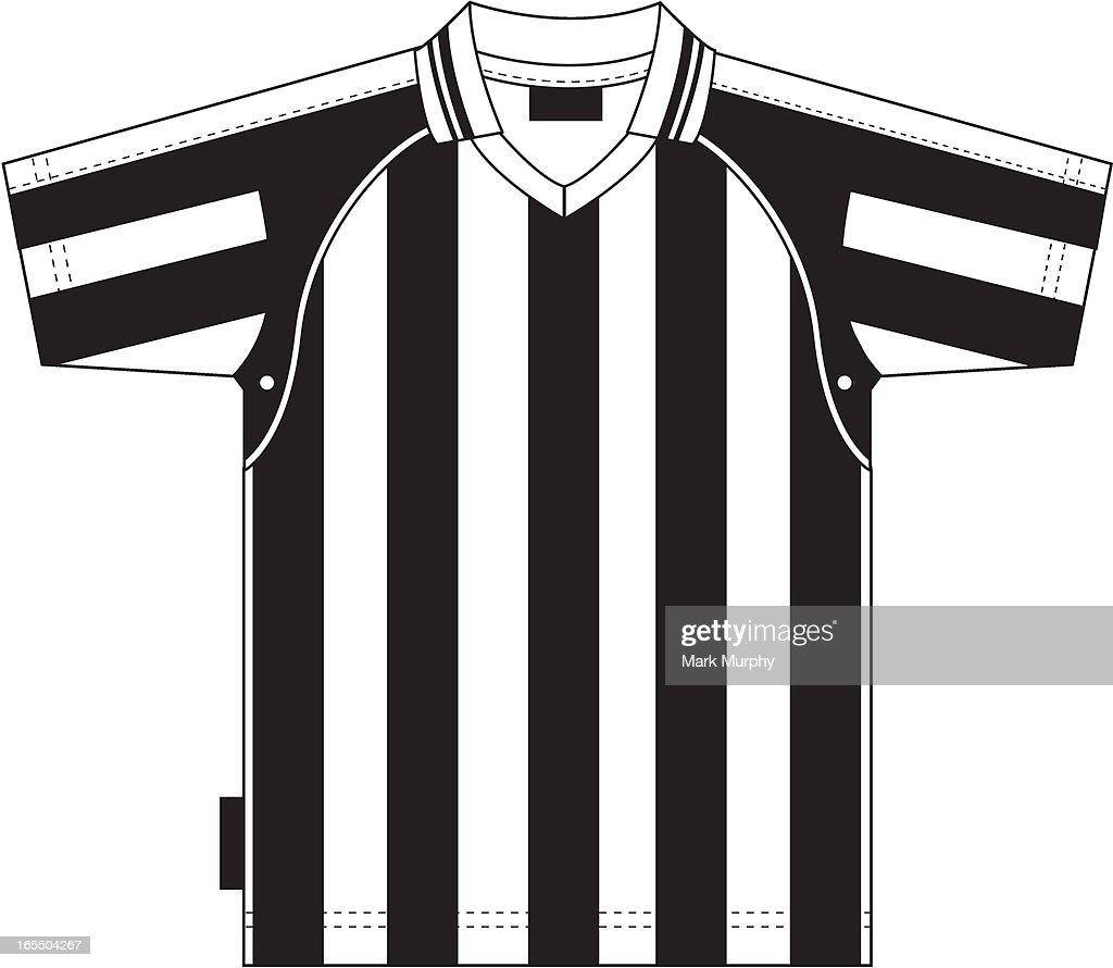 Football Soccer Shirt Striped : stock illustration