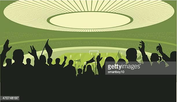 Fußball-Fußball-Stadion