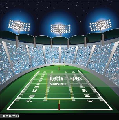 football stadium background vector art getty images