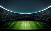 football stadium vector 1