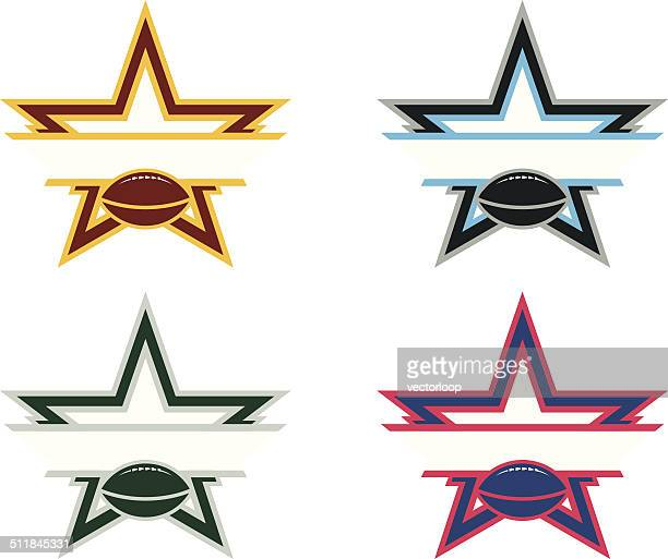 Football Star Logo