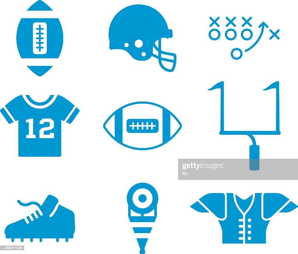 Football Symbols and Icons