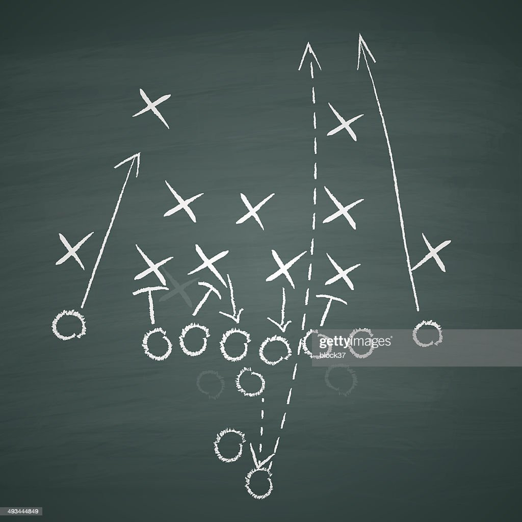 football tactic on board