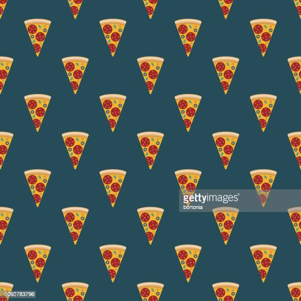 football tailgating party seamless pattern - unhealthy eating stock illustrations