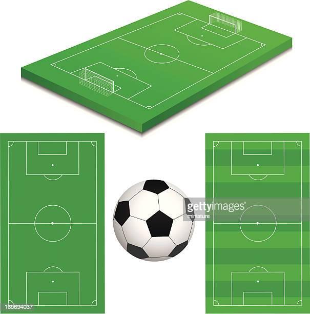 ilustraciones, imágenes clip art, dibujos animados e iconos de stock de fútbol americano - cancha futbol