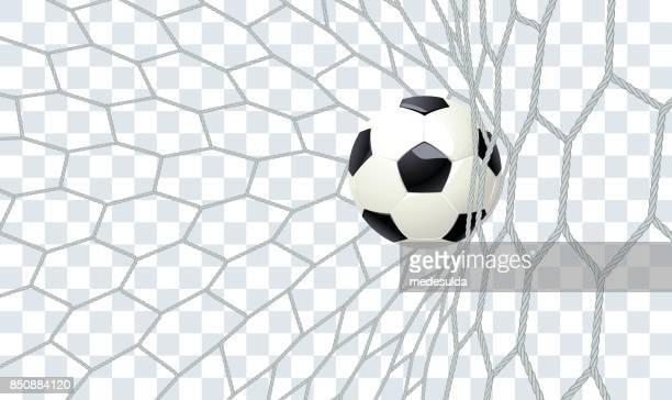 football - tor sportgerät stock-grafiken, -clipart, -cartoons und -symbole