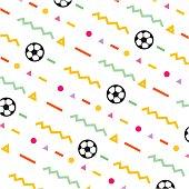 Football Vector Template Design Illustration background