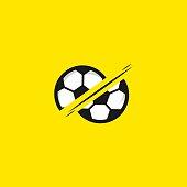 Football Vector Template Design Illustration