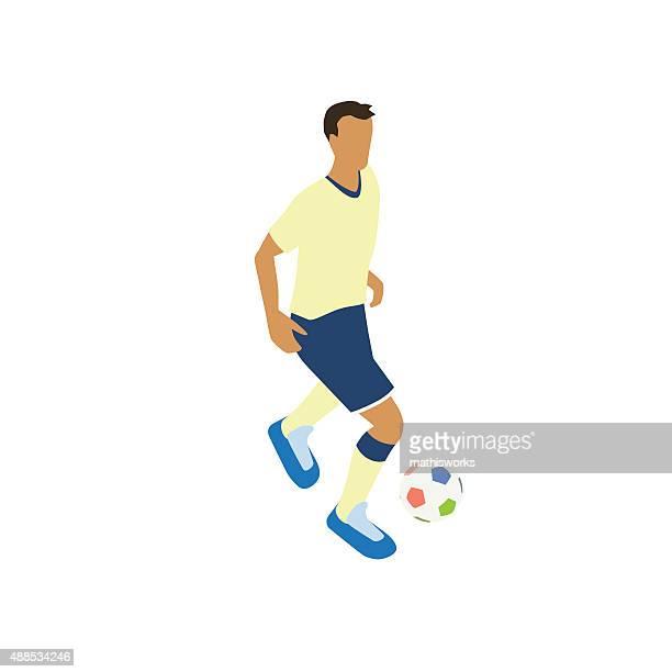 Fußballer Illustrationen