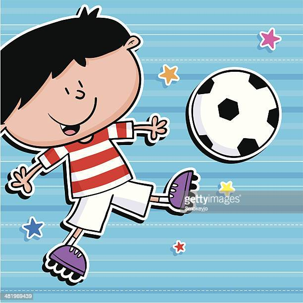 Footie kid