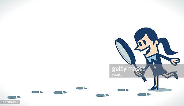 footprint - sherlock holmes stock illustrations