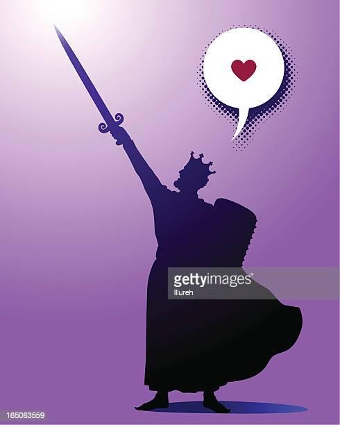for love! - cavalier cavalry stock illustrations, clip art, cartoons, & icons