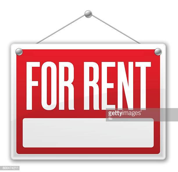 賃貸物件の看板 - 賃貸借点のイラスト素材/クリップアート素材/マンガ素材/アイコン素材