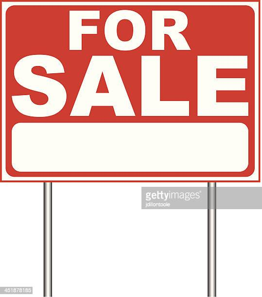for sale sign stock illustrations and cartoons getty images